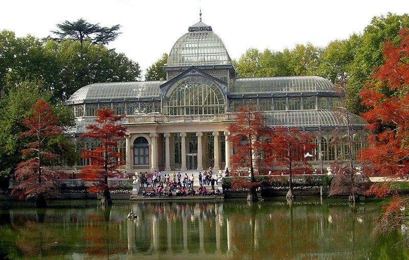 Palacio de cristal en madrid for Jardines del palacio de cristal oporto