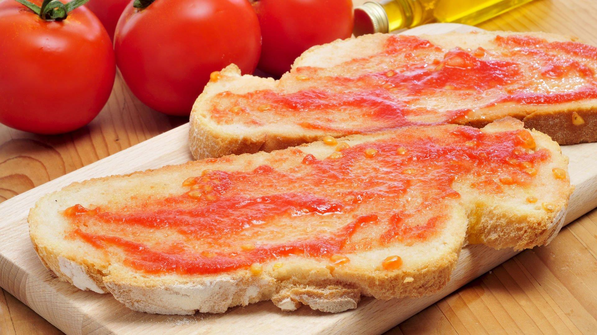 Resultado de imagen de pan con tumaca