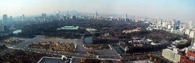Panoramica del Palacio Imperial en Tokio