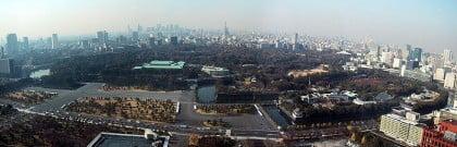 Panorámica del Palacio Imperial en Tokio