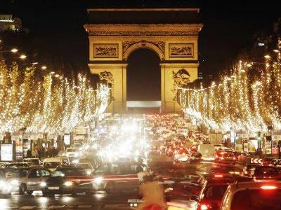 Paris en fiestas de fin de ano