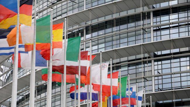 Parlamento Europeo en Estrasburgo