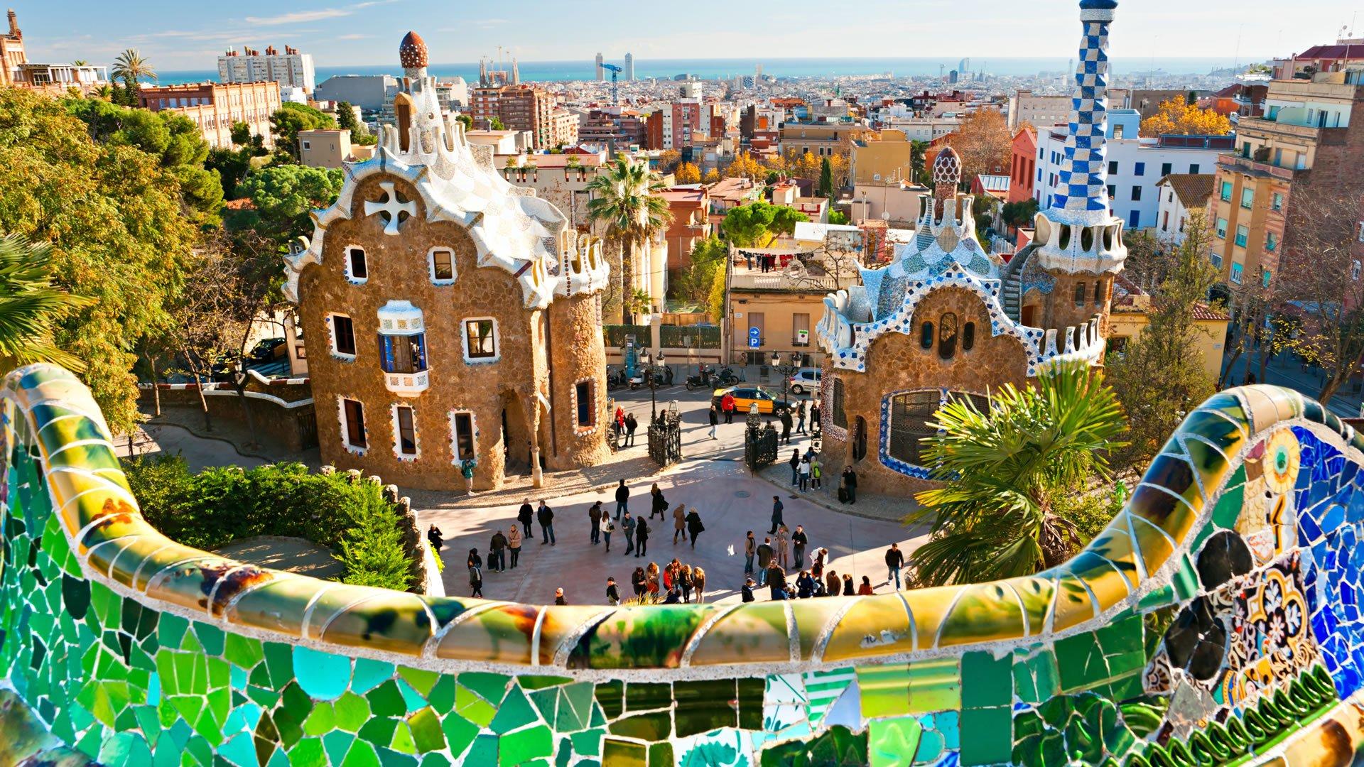 Parque g ell barcelona espa a for Parques de barcelona para ninos