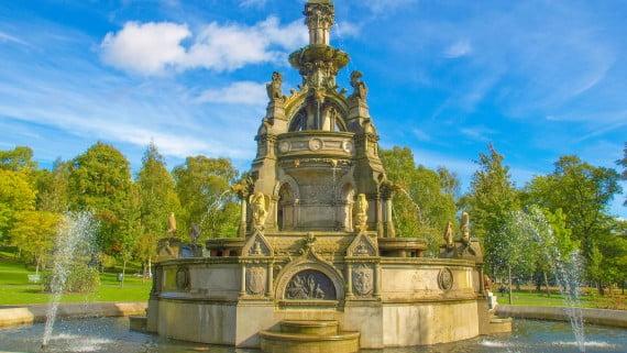 Parque Kelvingrove, Glasgow, Escocia