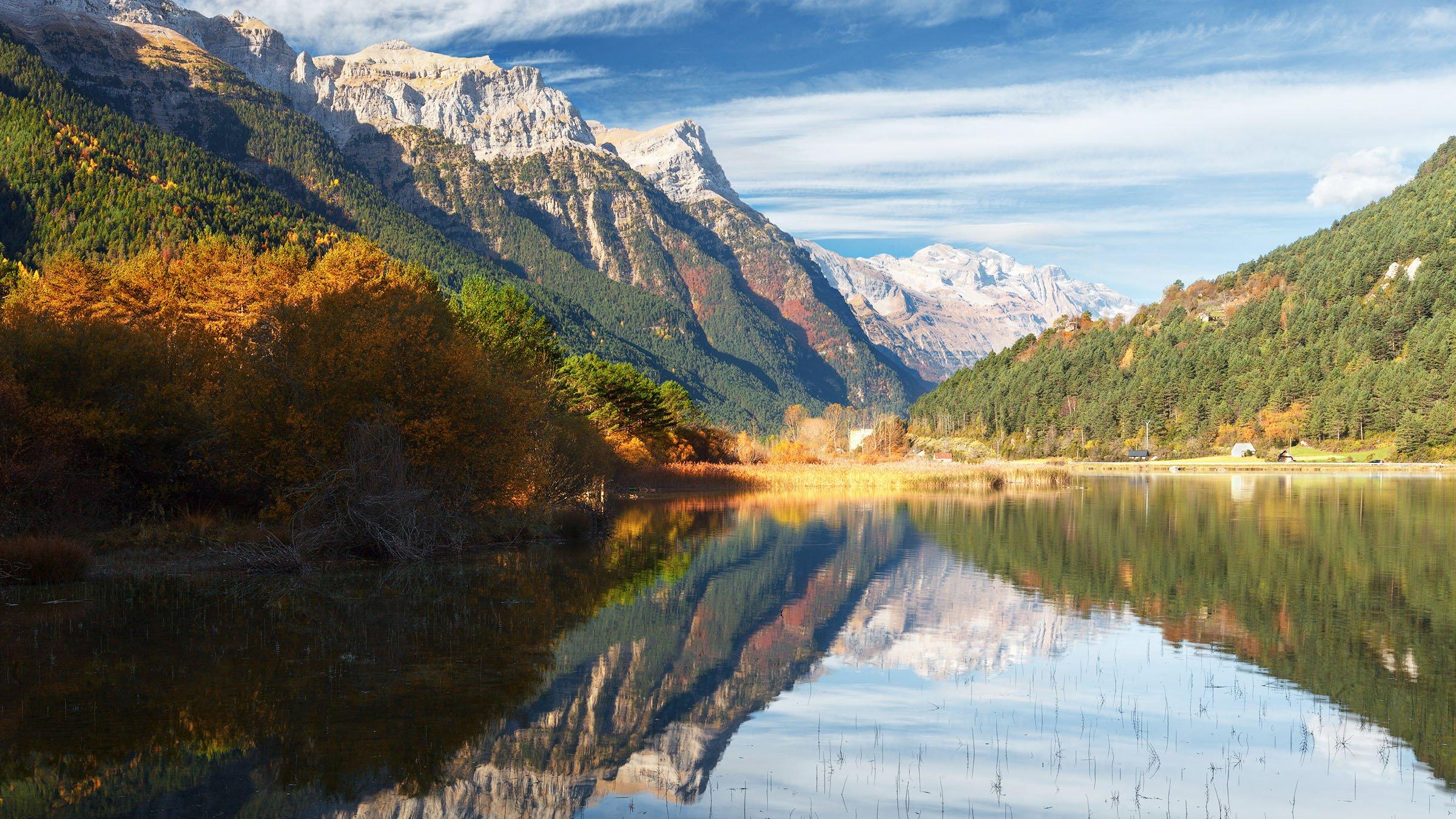 Resultado de imagen de monte perdido y parque nacional ordesa