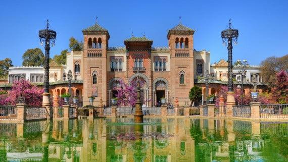 Parque María Luisa, Sevilla, España