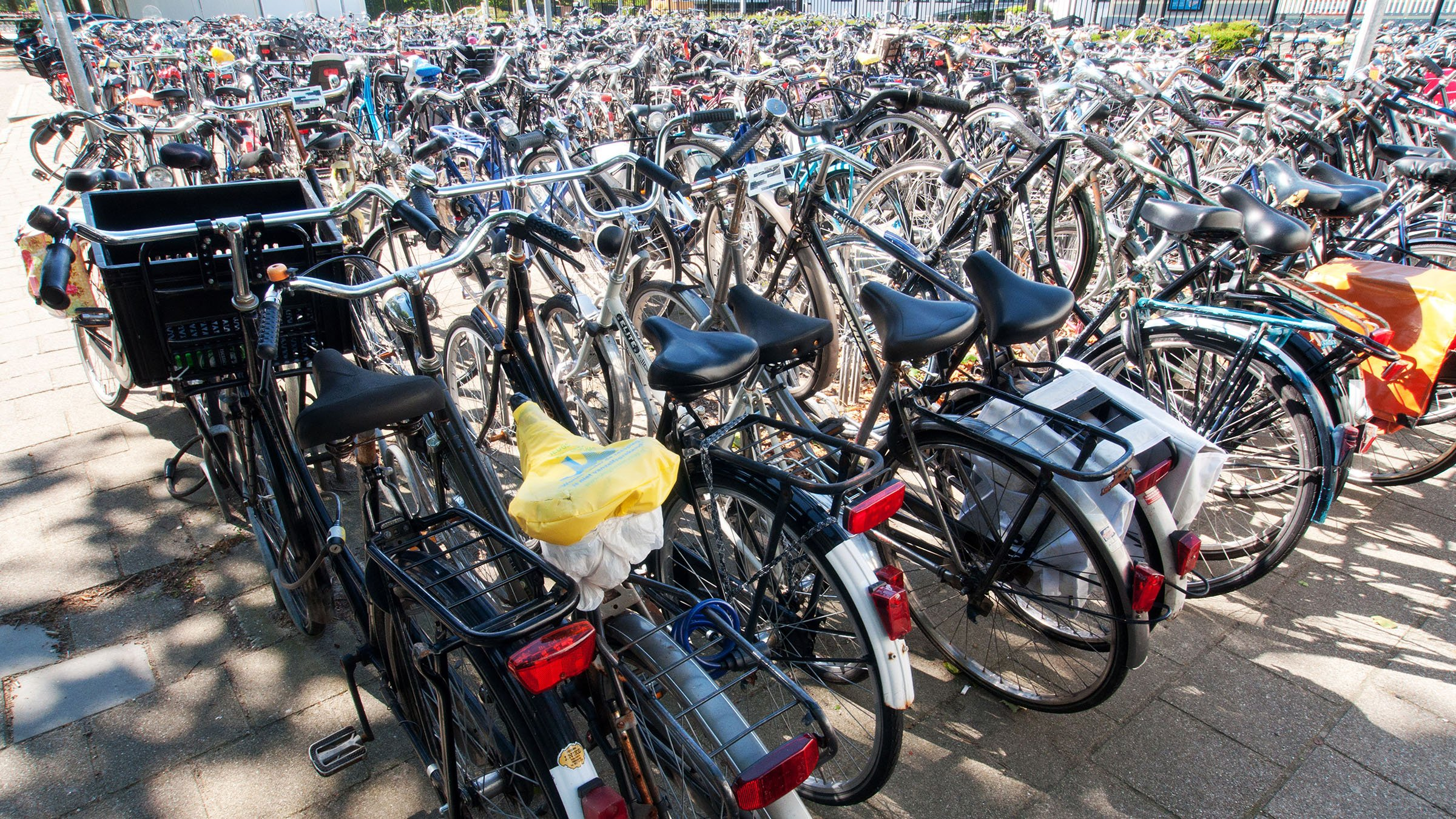 Parqueo de bicicletas