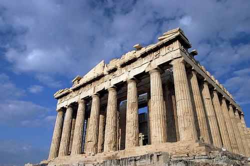 Partenon en Atenas