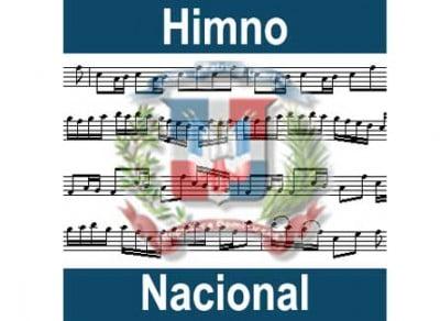 Partitura Himno Nacional Republica Dominicana