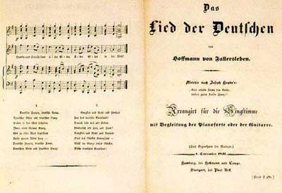 Partitura de Deutschlandlied