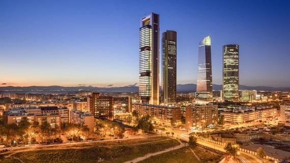 Paseo de la Castellana, Madrid