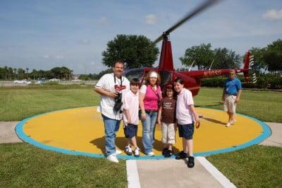 Paseo en helicóptero por Orlando