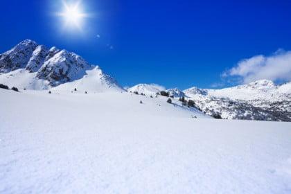 Paseo en raquetas de nieve