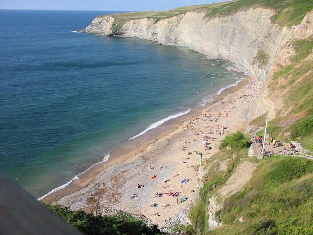 Playa de Peñarubia en Asturias