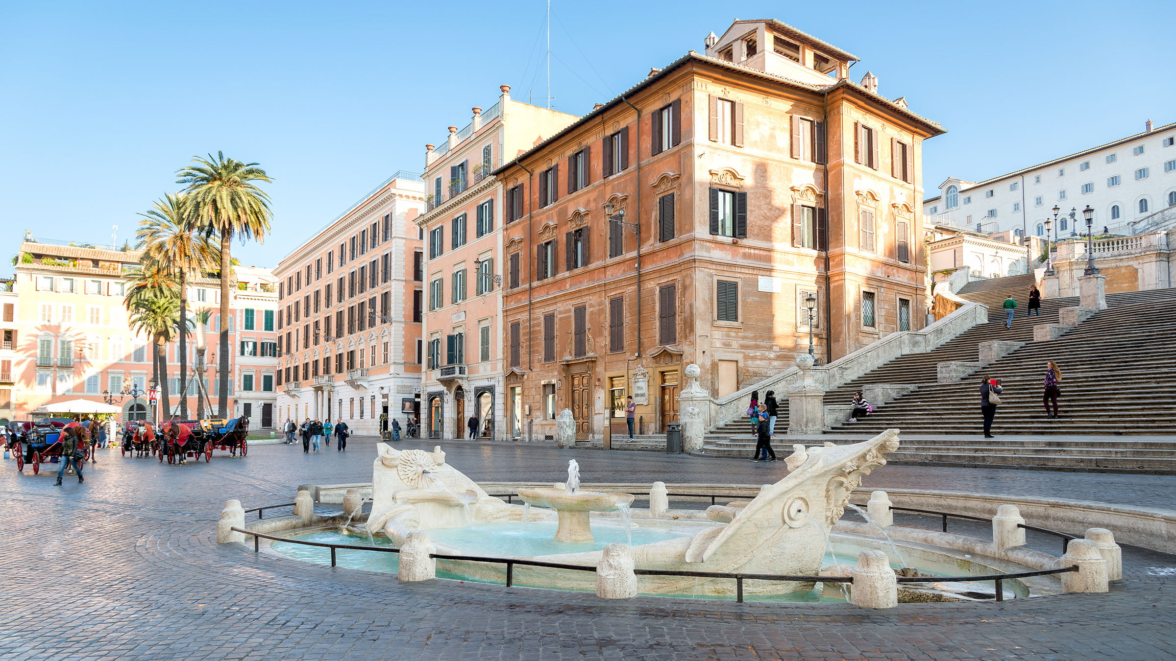 Piazza di Spagna, en Roma
