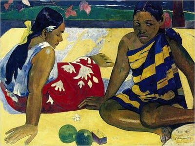 Pintura de Gauguin
