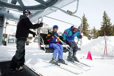 Pista de esquiar en Val-Thorens – Orelle