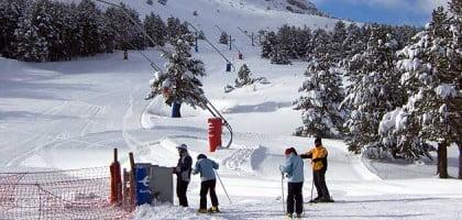 Pistas de esquí en Javalambre