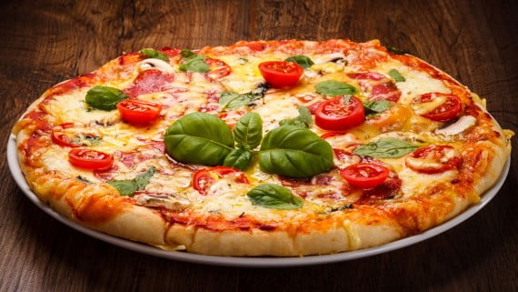 Pizzas italianas