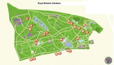 Plano de Kew Gardens