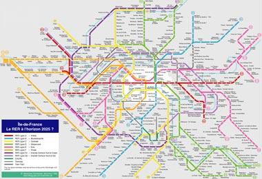 Plano Metro Paris