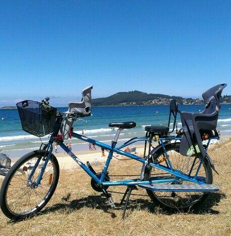 Playa América en Galicia