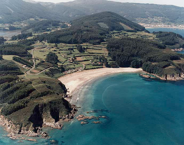 Playa Fornos A Coruña