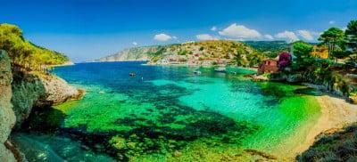 Playa Islas Mujeres en México
