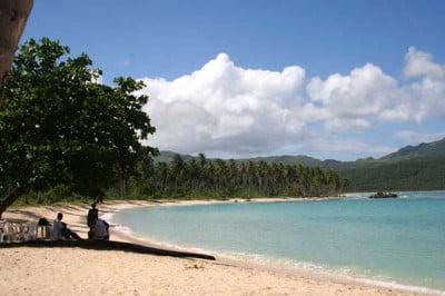 Playa Rincón de República Dominicana