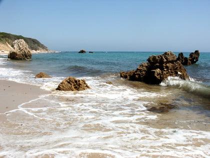 Playa de Bolonia en Andalucía