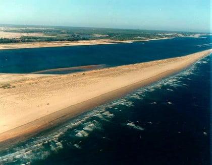 Playa de Espigón de Huelva