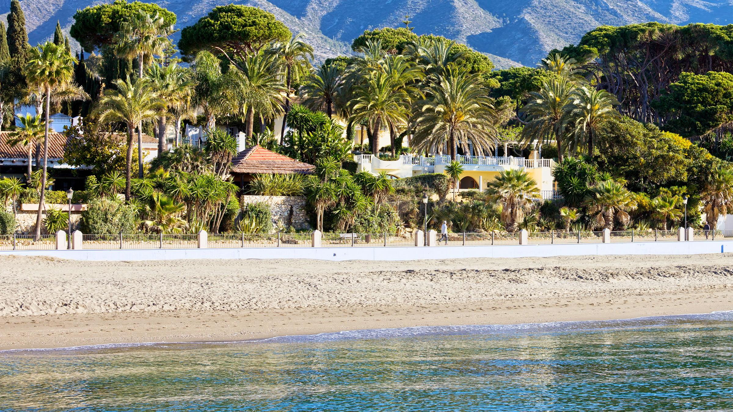 Playa de Marbella, Málaga, España
