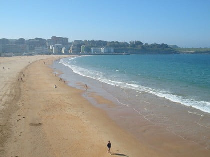 Playa el Sardinero en Santander
