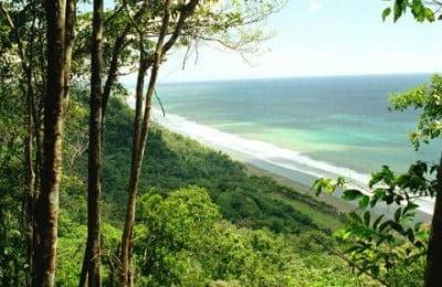 Playa en Pacífico Sur Costarricense