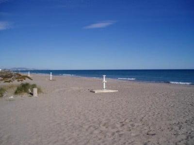 Playa nudista de Corinto
