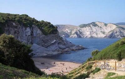 Playa nudista de Muriola