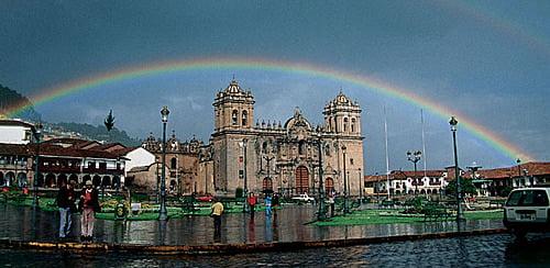 Plaza de Armas del Cusco de día