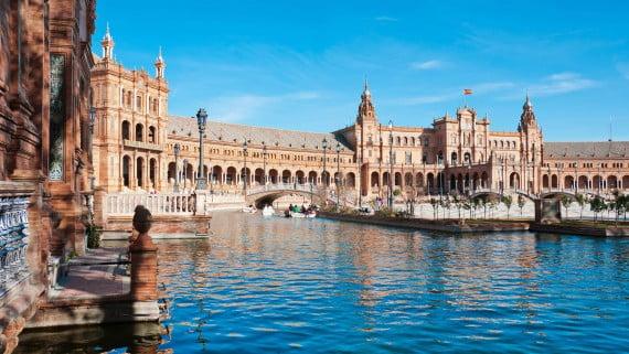 Praza de España, Sevilla