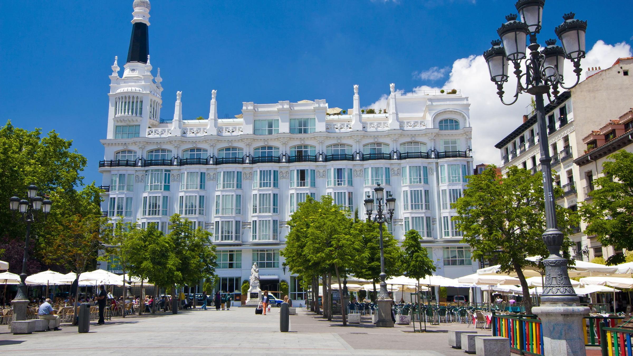 Plaza de santa ana madrid espa a - One shot hotels madrid ...