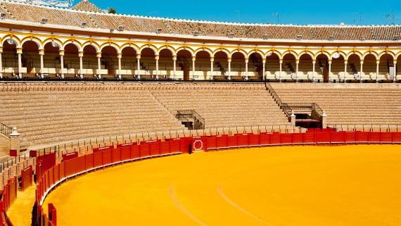 Praza de touros da Real Maestranza de Caballería de Sevilla