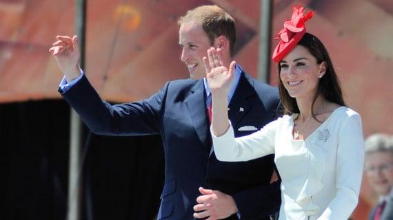 威廉王子和凱特·米德爾頓