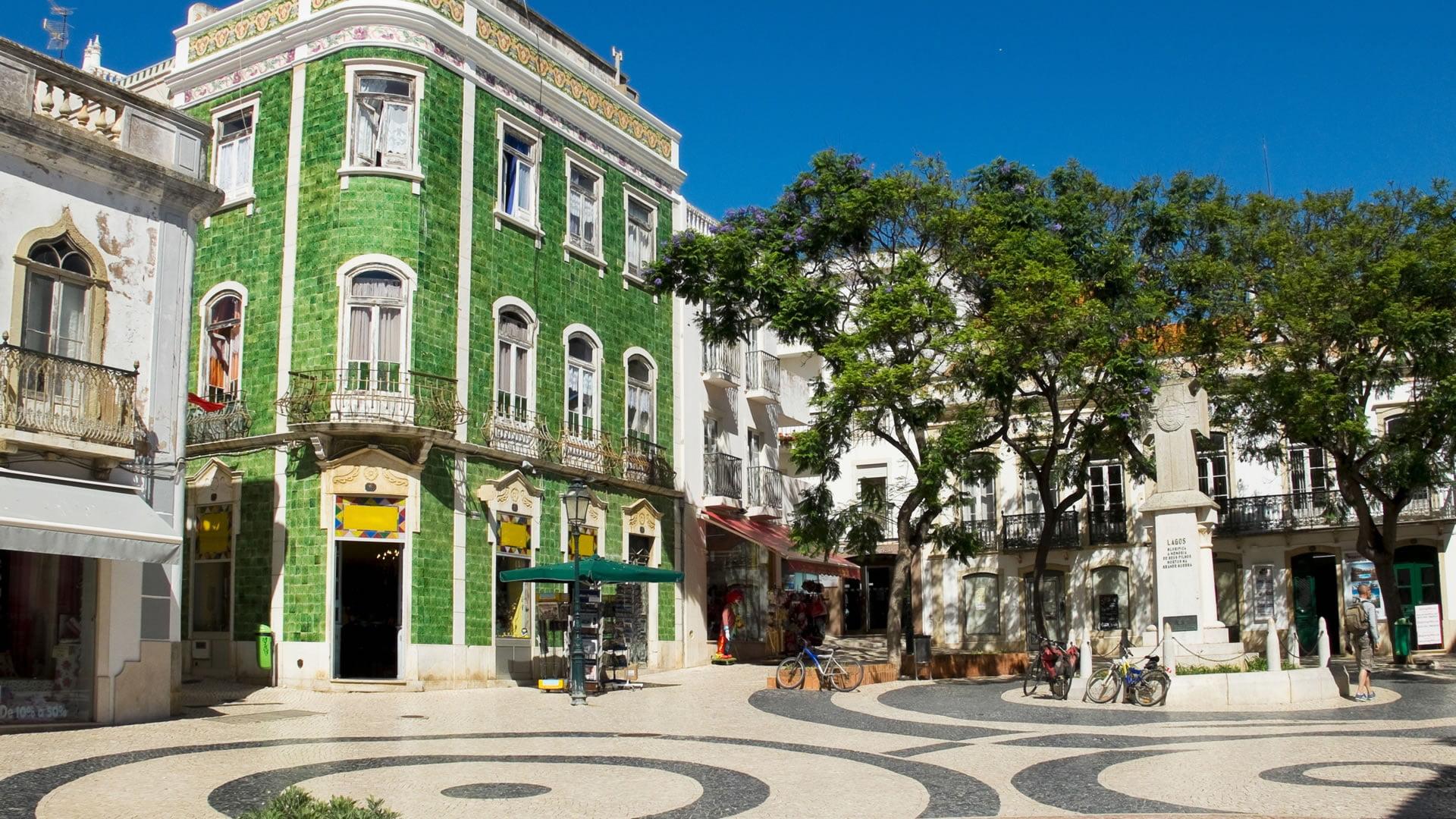 Praça Luís de Camões, Lagos, Portugal