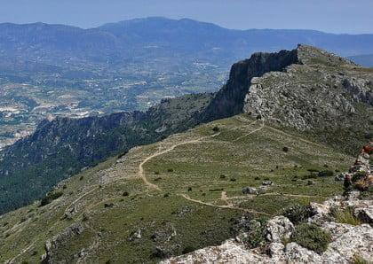 Practicar senderismo en Alicante