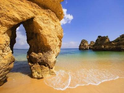 Praia Dona Ana de Portugal