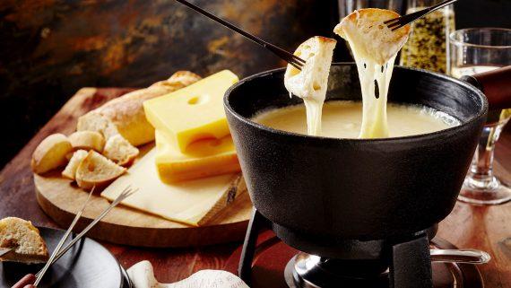Preparación de la fondue paso a paso