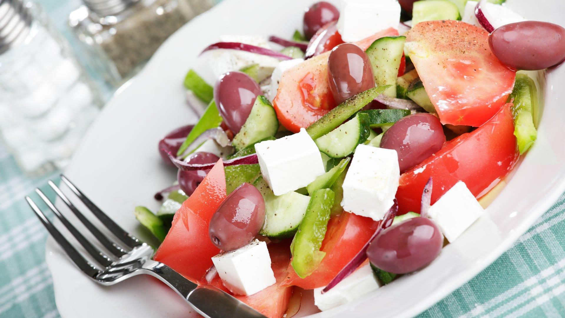 Receta de la Horiatiki Salata