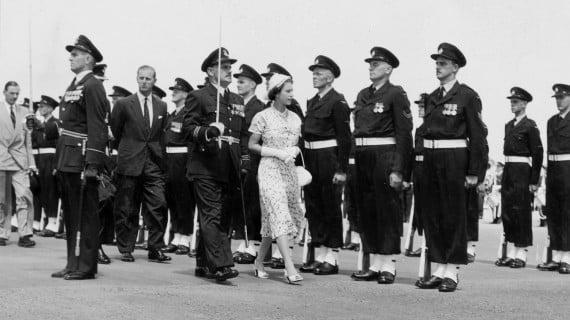 Primeros años de la Reina de Inglaterra