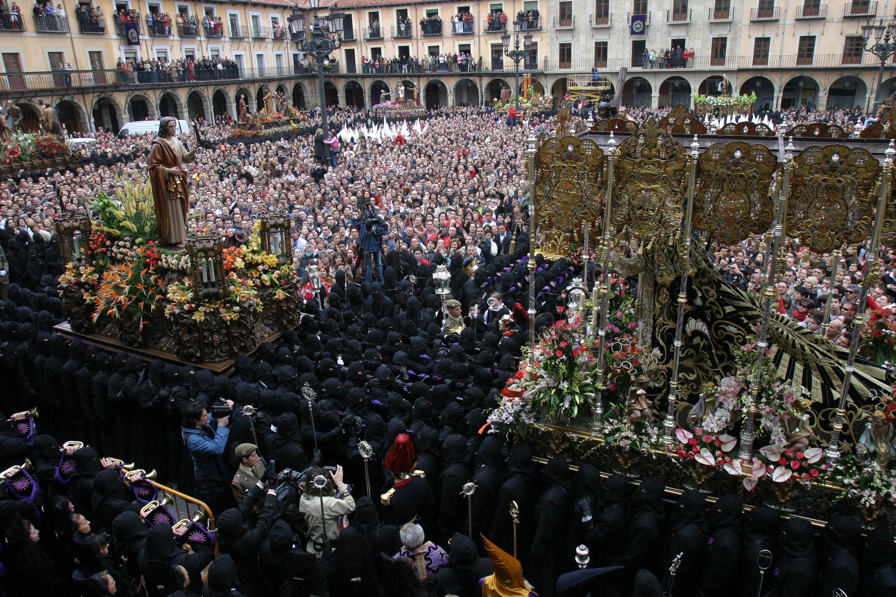 Procesiones de Semana Santa de León