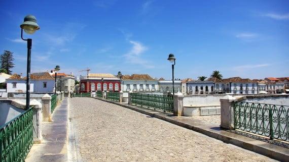 Puente Romano peatonal de Tavira, Portugal