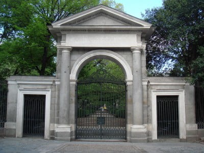 Puerta Principal del Jardín Botánico de Madrid